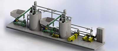 Установки модификации битум
