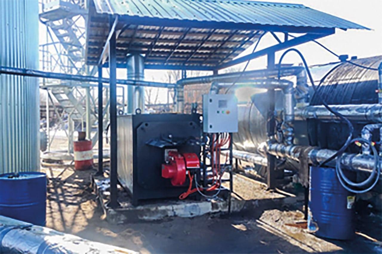 маслонагревательная станция в сборе
